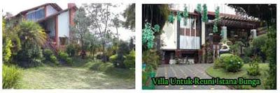 villa untuk reuni di lembang