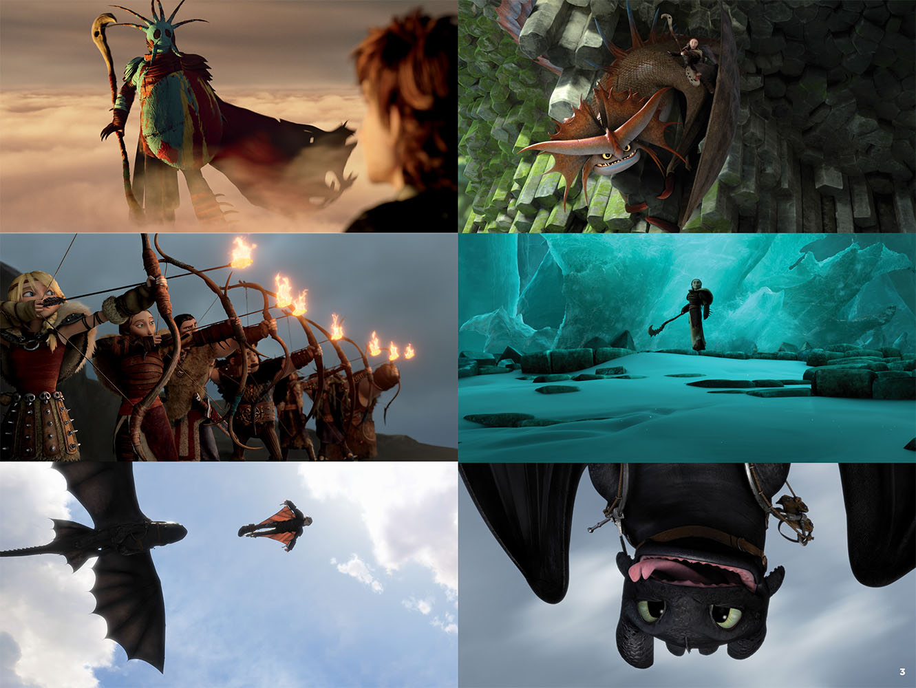 Encartes pop encarte how to train your dragon 2 music from the tags booklet soundtrack ccuart Gallery