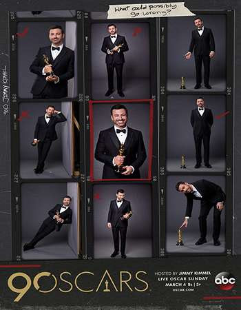 Poster Of The Oscars 90th Annual Academy Awards   2018 Watch Online Free Download