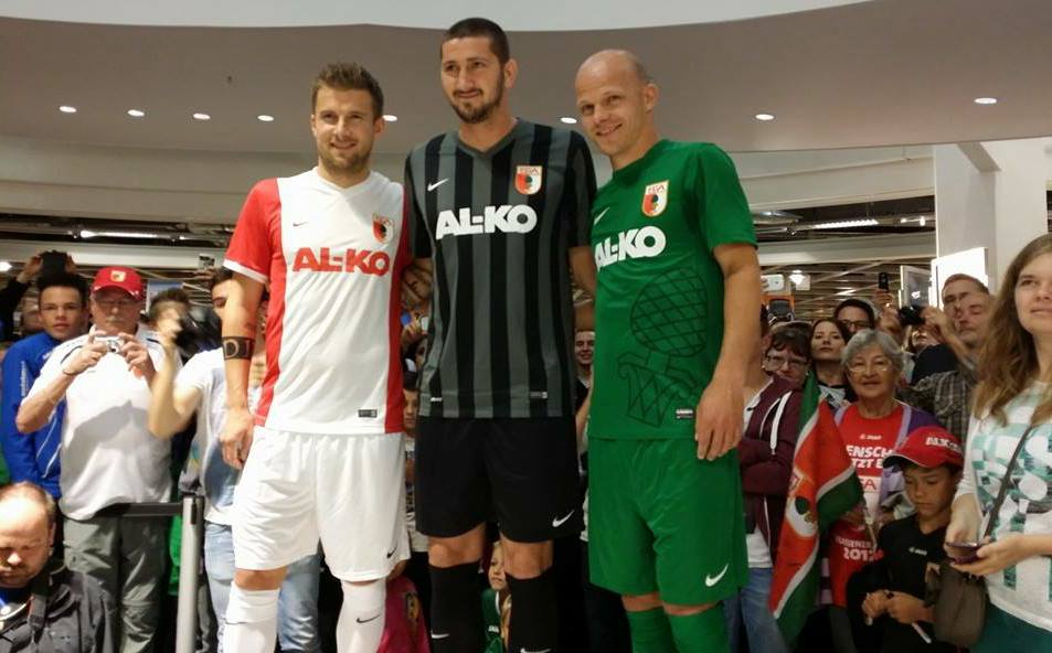 a52689a6735 Nike FC Augsburg 14-15 Kits Released - Footy Headlines