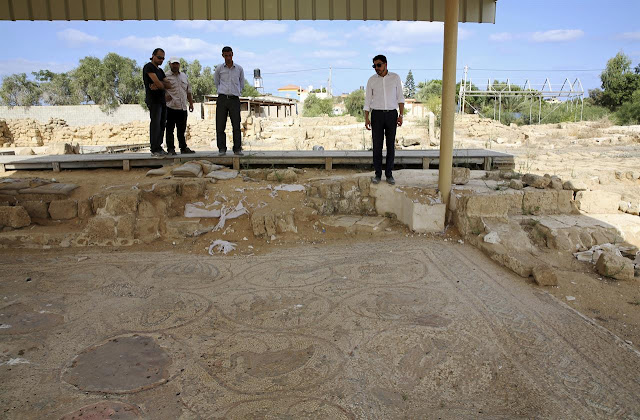 In Gaza, Hamas levels an ancient Canaanite treasure