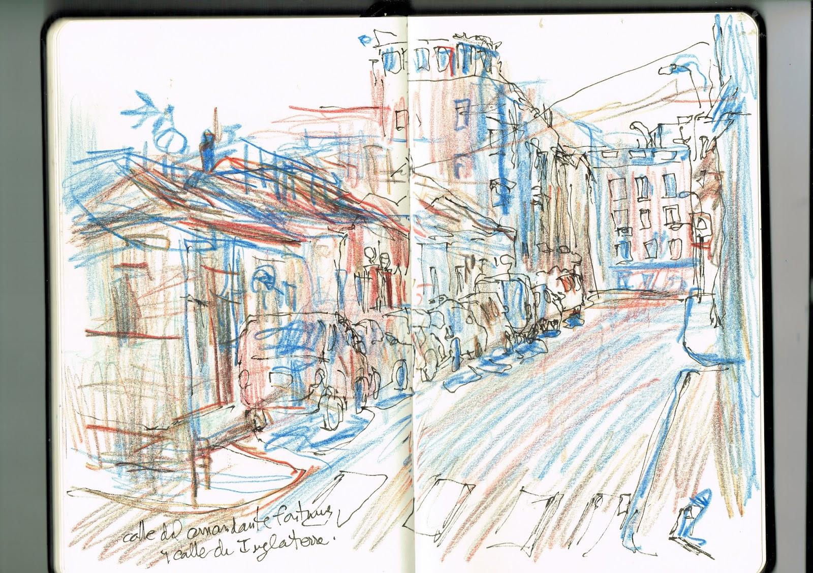 Urban Sketchers Spain El Mundo Dibujo A Dibujo El Cementerio