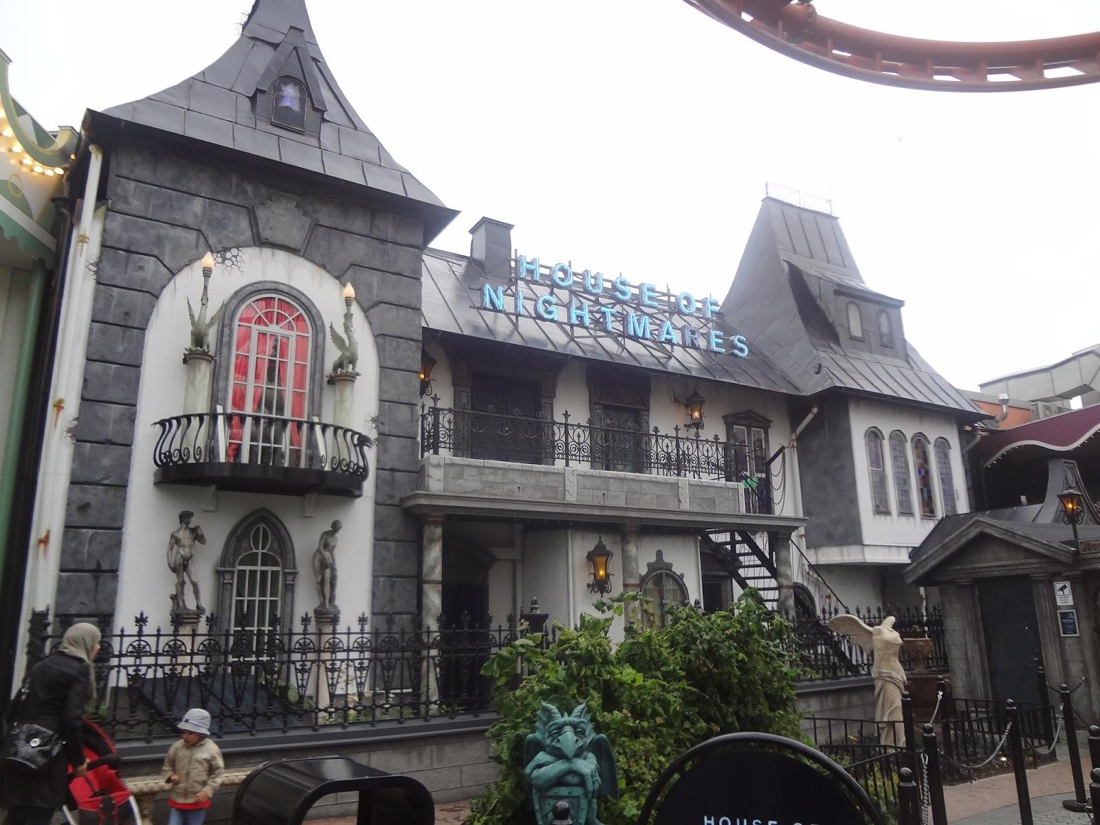 House of nightmare, maison hantée