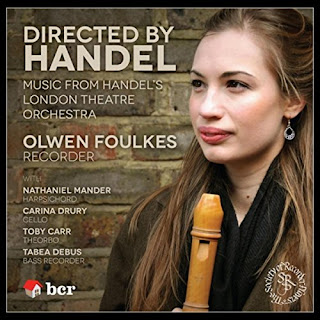 Olwen Foulkes - Directed by Handel - Barn Cottage Records