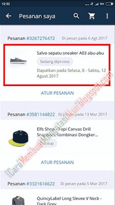 cara membeli sepatu di lazada pembayaran tanpa transfer