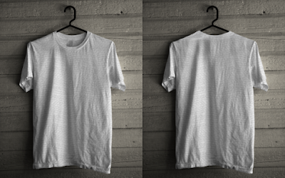 T-Shirt Hanging Mockup CDR Version
