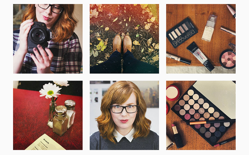 Warm Vintage Instagram Theme
