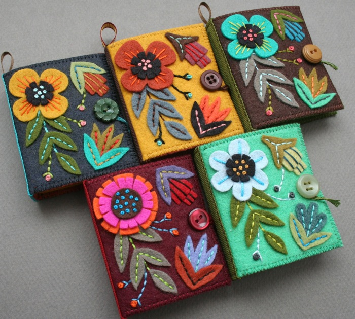 craft with felt ideas mmmcrafts five needle books in the shop 4099
