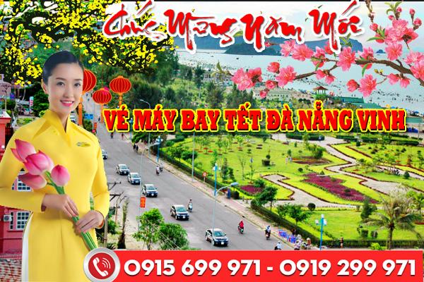 Vé máy bay tết Đà Nẵng đi Vinh 2018
