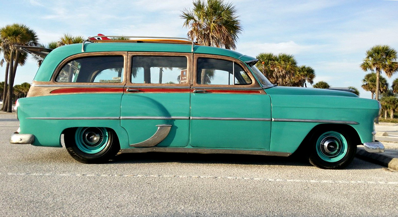 247 Autoholic Wagon Wednesday 1953 Chevrolet Woodie