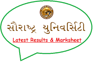 Saurashtra University Result May June 2020