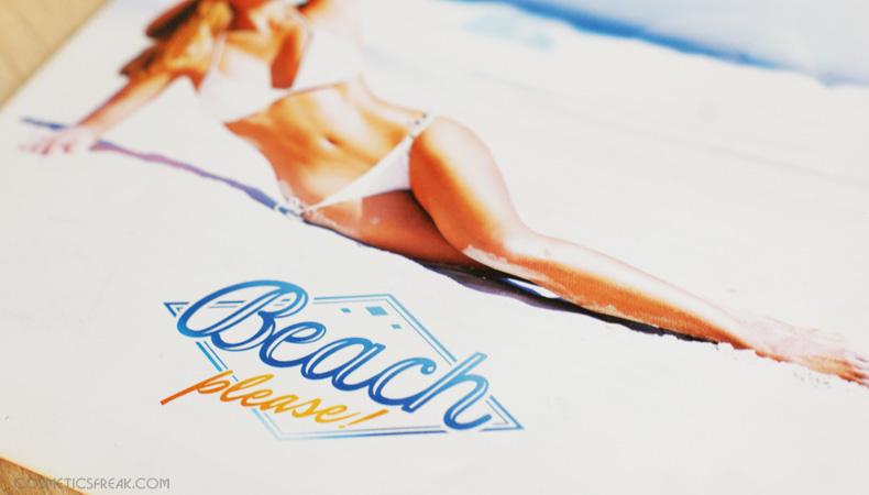"LIPCOWY SHINYBOX ""BEACH PLEASE"""