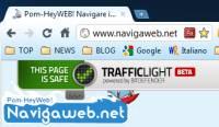 Protezione del browser da malware virus e tentativi di phishing