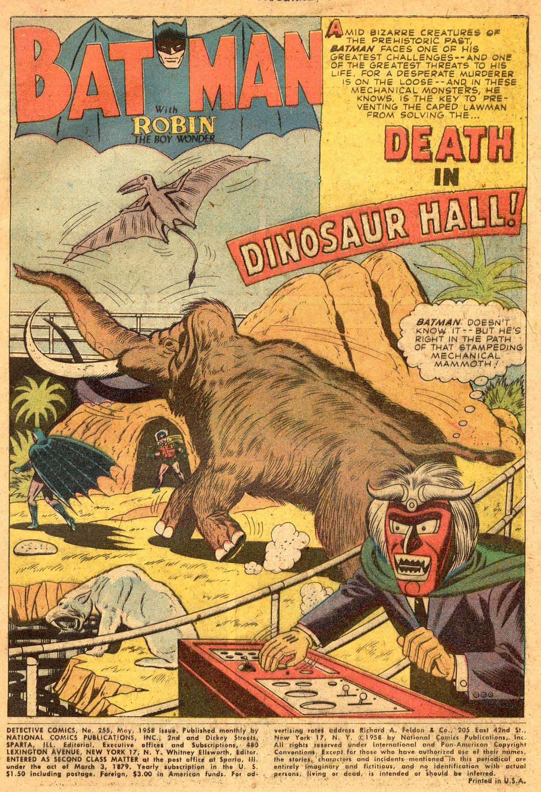 Read online Detective Comics (1937) comic -  Issue #255 - 3