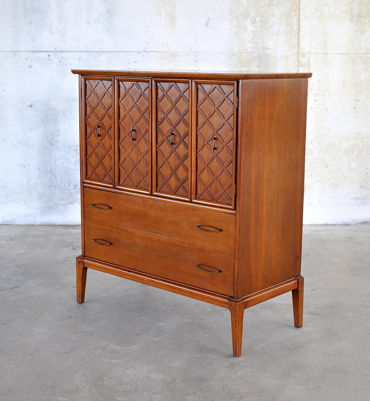 Century Modern: SELECT MODERN: Mid Century Modern Highboy Dresser