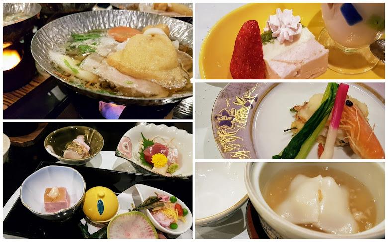 日式傳統懷石料理