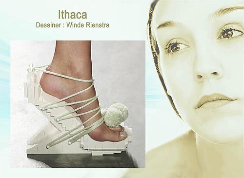 Desain  model sepatu wanita unik