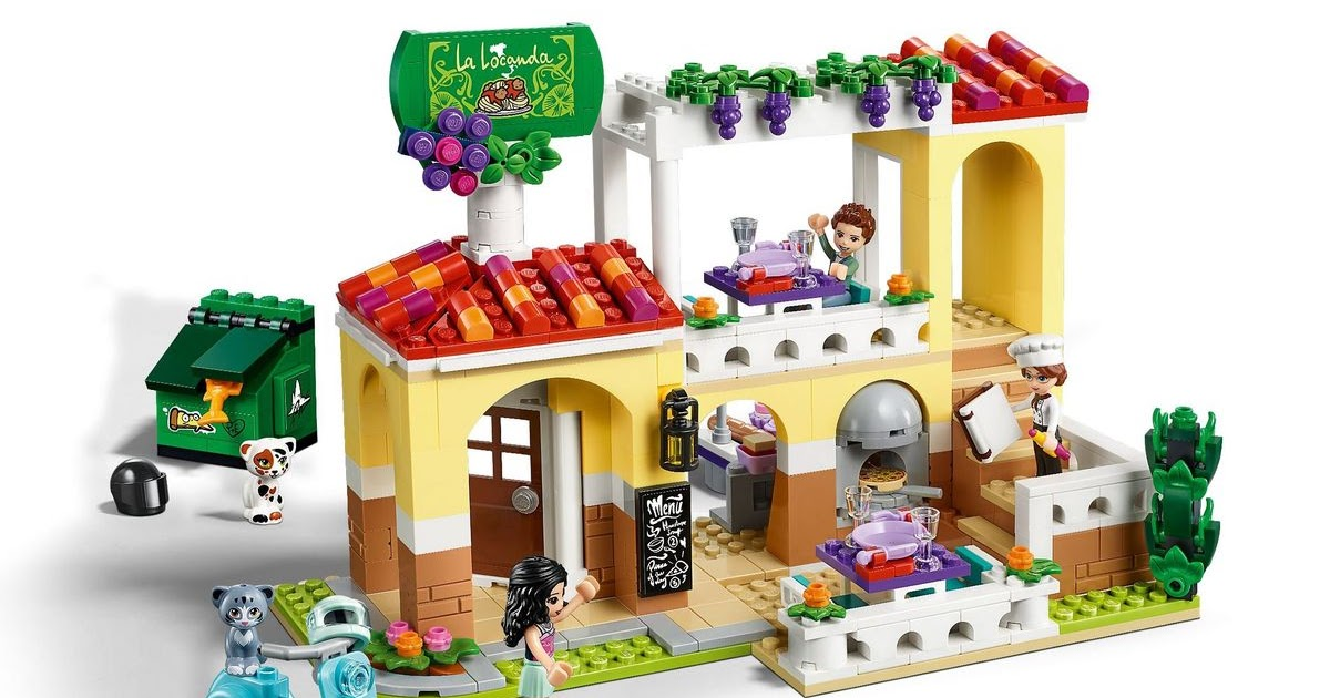 heartlake times lego friends summer 2019 set images. Black Bedroom Furniture Sets. Home Design Ideas