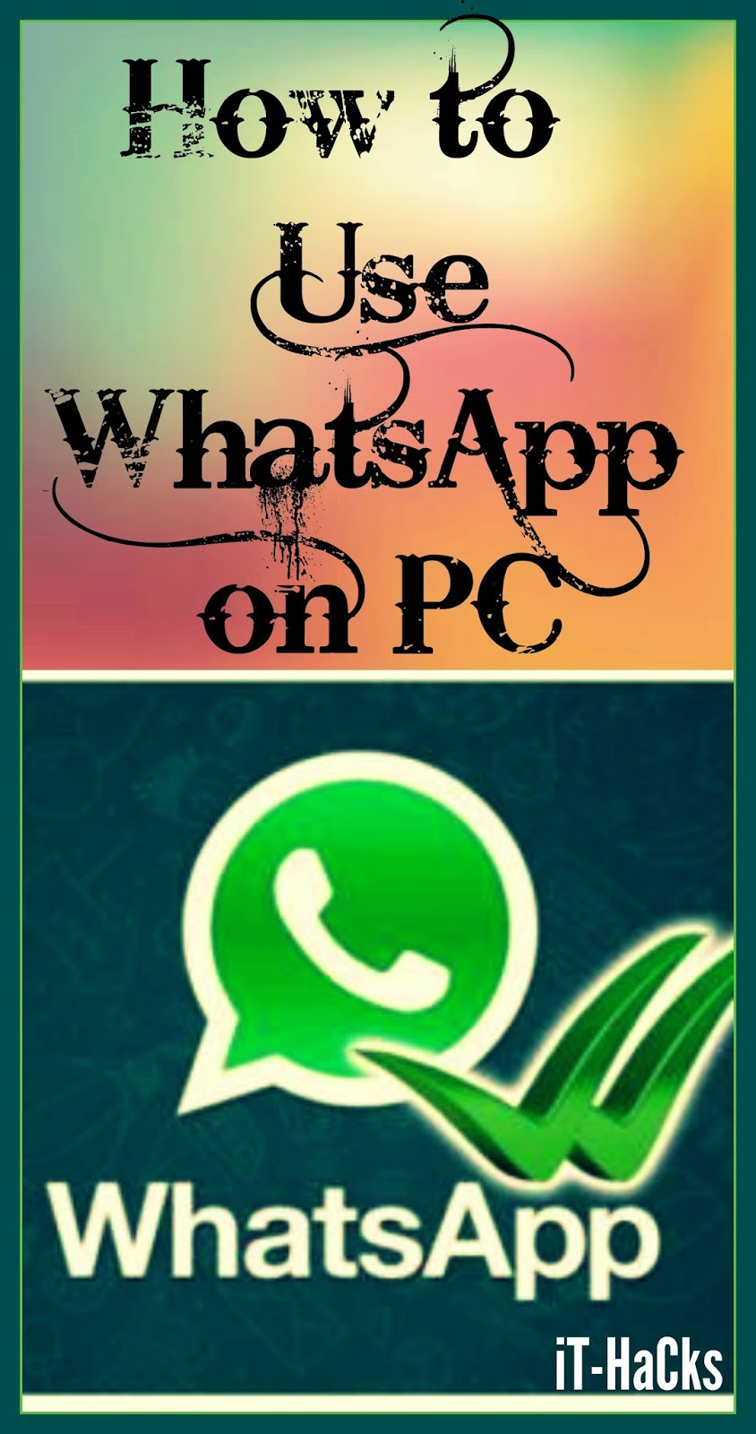how to whatsapp download for pc