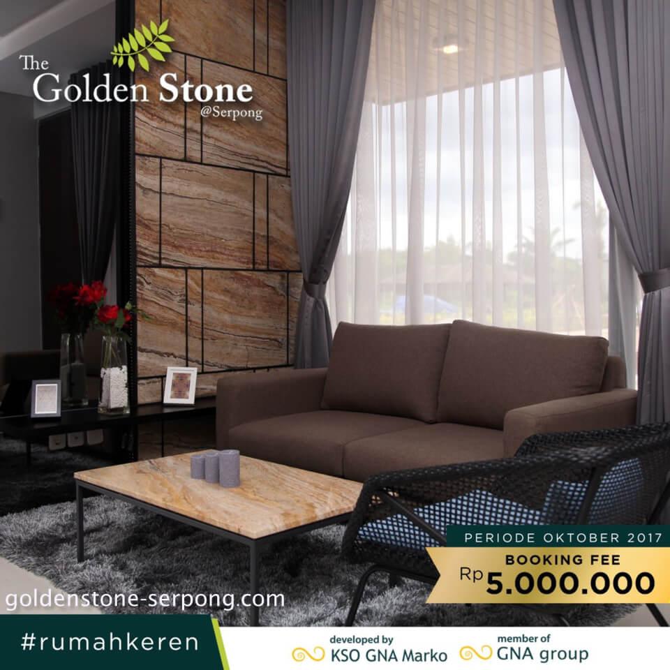 Promo Rumah Golden Stone Serpong Oktober 2017