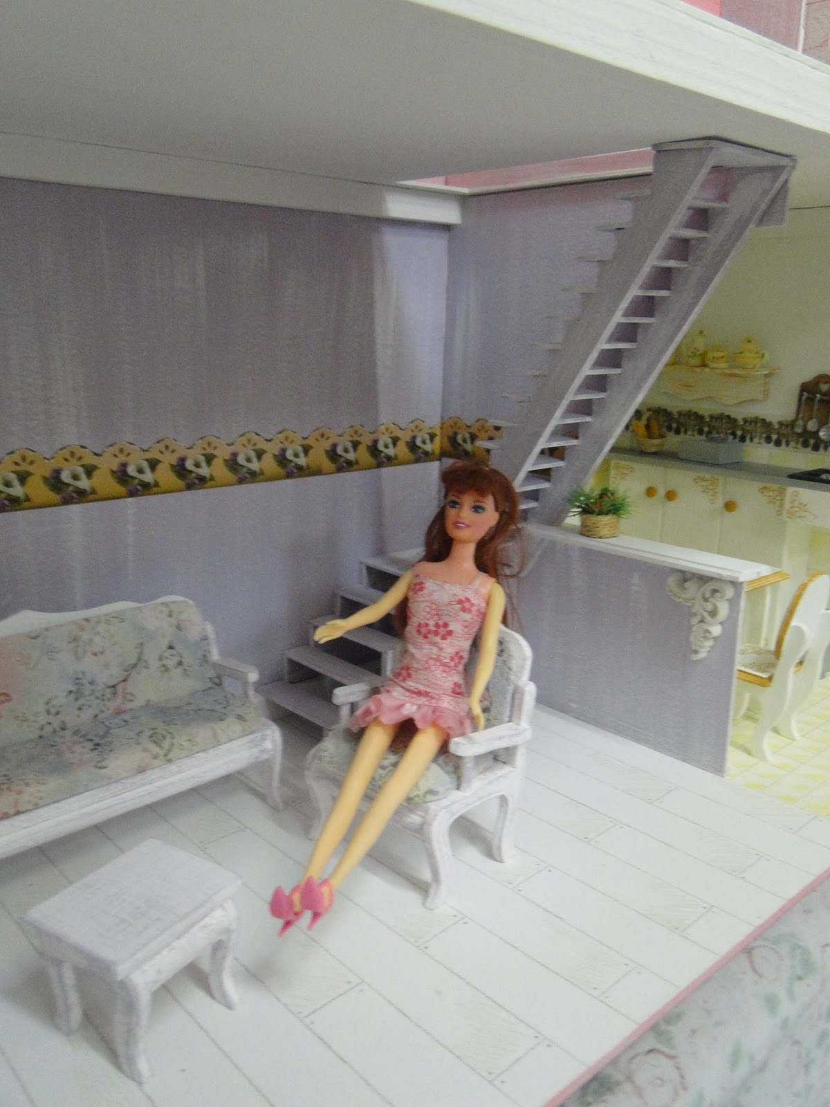 Casas e Casinhas Home Store Casa de Bonecas Barbie Modelo Grande
