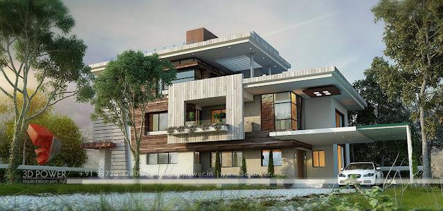Ultra modern home designs home designs contemporary for Exterior house design bungalow