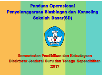 Panduan Operasional Penyelenggaraan Bimbingan dan konseling SD/MI tahun 2017