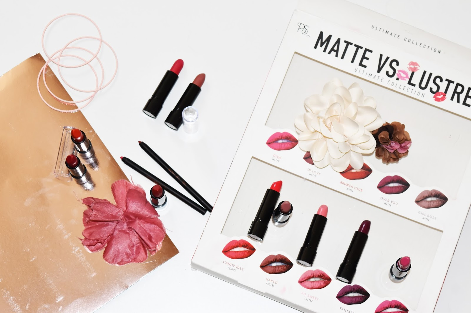 Matte vs lustre, ultimate colection PRIMARK BEAUTY