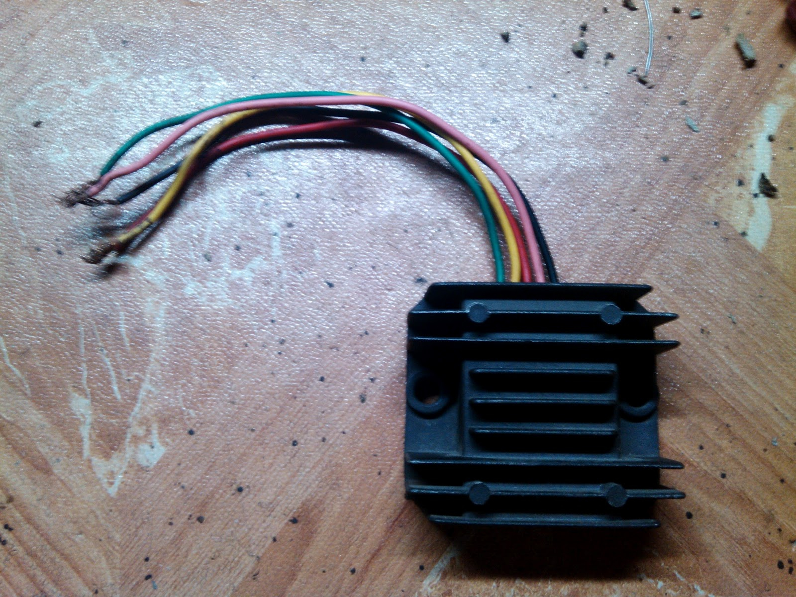 5 pin rectifier wiring diagram 2003 toyota tacoma motorcycle charging for hid full wave conversion techy