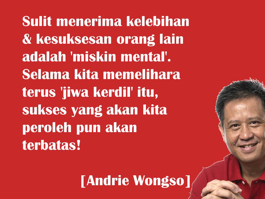motivasi andrie wongso