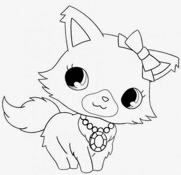 Malowanki Kolorowanki Do Druku I Rysowanie Pet Shop Kotki