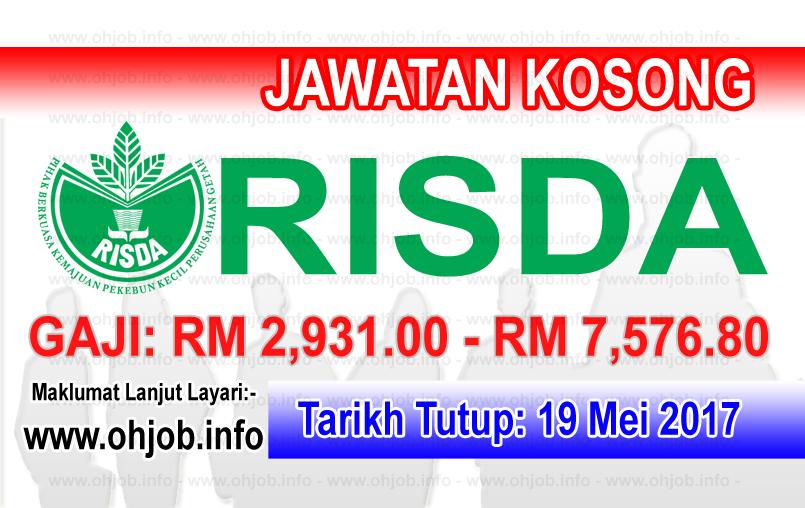 Jawatan Kerja Kosong RISDA logo www.ohjob.info mei 2017
