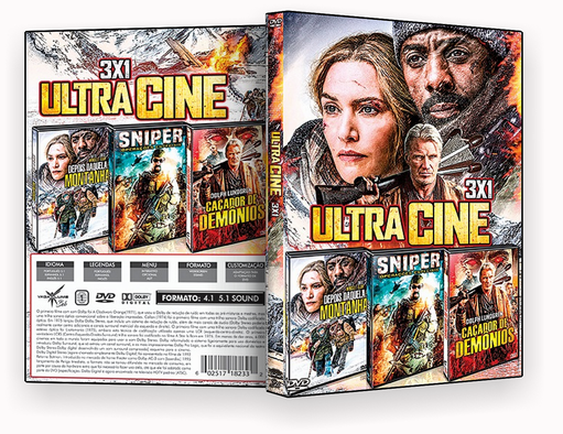 FILMES – Ultra Cine 3X1 – ISO