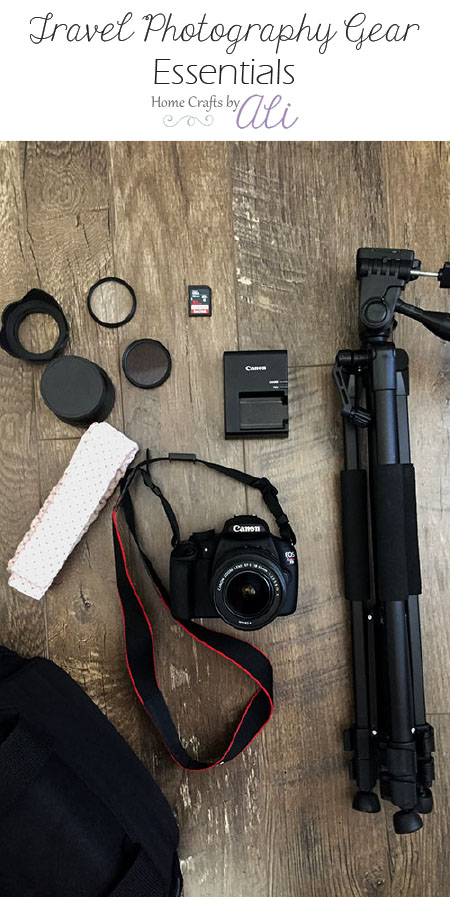 camera lens and accessories to have when traveling and adventures