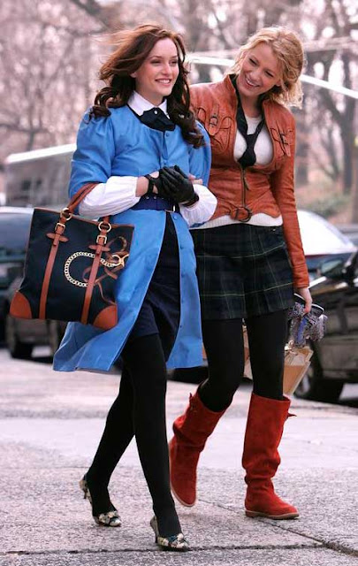 Blair e Serena amigas