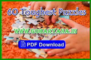 60 Toughest Puzzles Practice Set For UPSC & Banking
