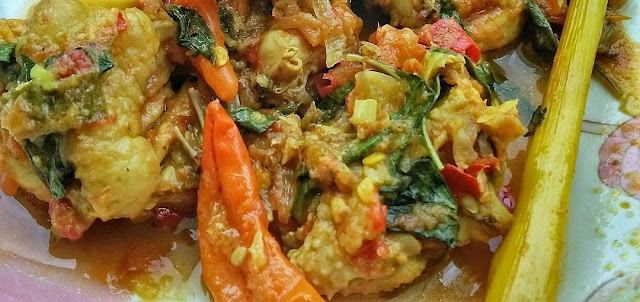 Resep Ayam Woku Pedas Asli Masakan Manado, bumbu ayam woku