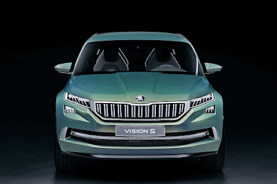 coming 2017 Skoda Kodiaq SUV vision s concept Hd Pictures