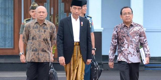 Dengan TEGAS! Presiden Jokowi Tak Terima Dituding Antek PKI