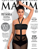 Priyanka Chopra Maxim June 2016 Scans