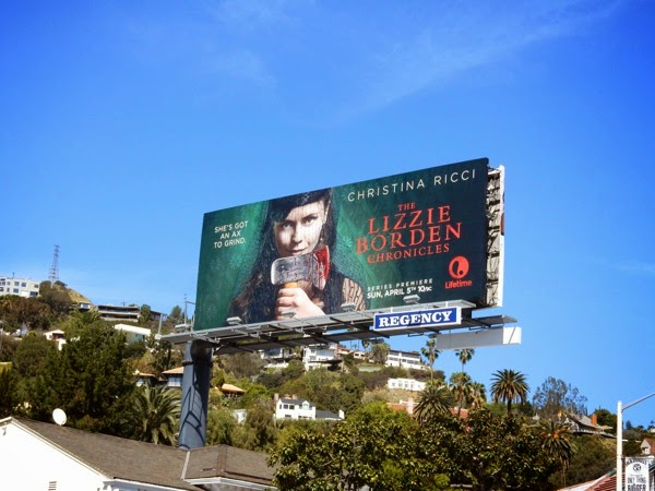 Lizzie Borden Chronicles season 1 billboard