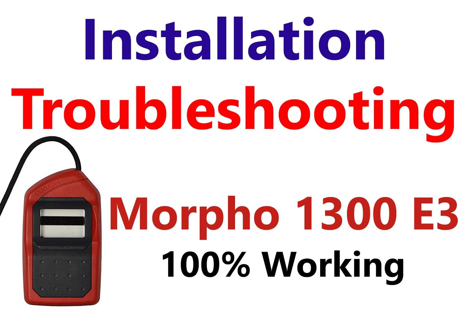 Morpho 1300 E3 Installation Step by Step - TECH SHAKYA