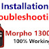 Morpho 1300 E3 Installation Step by Step