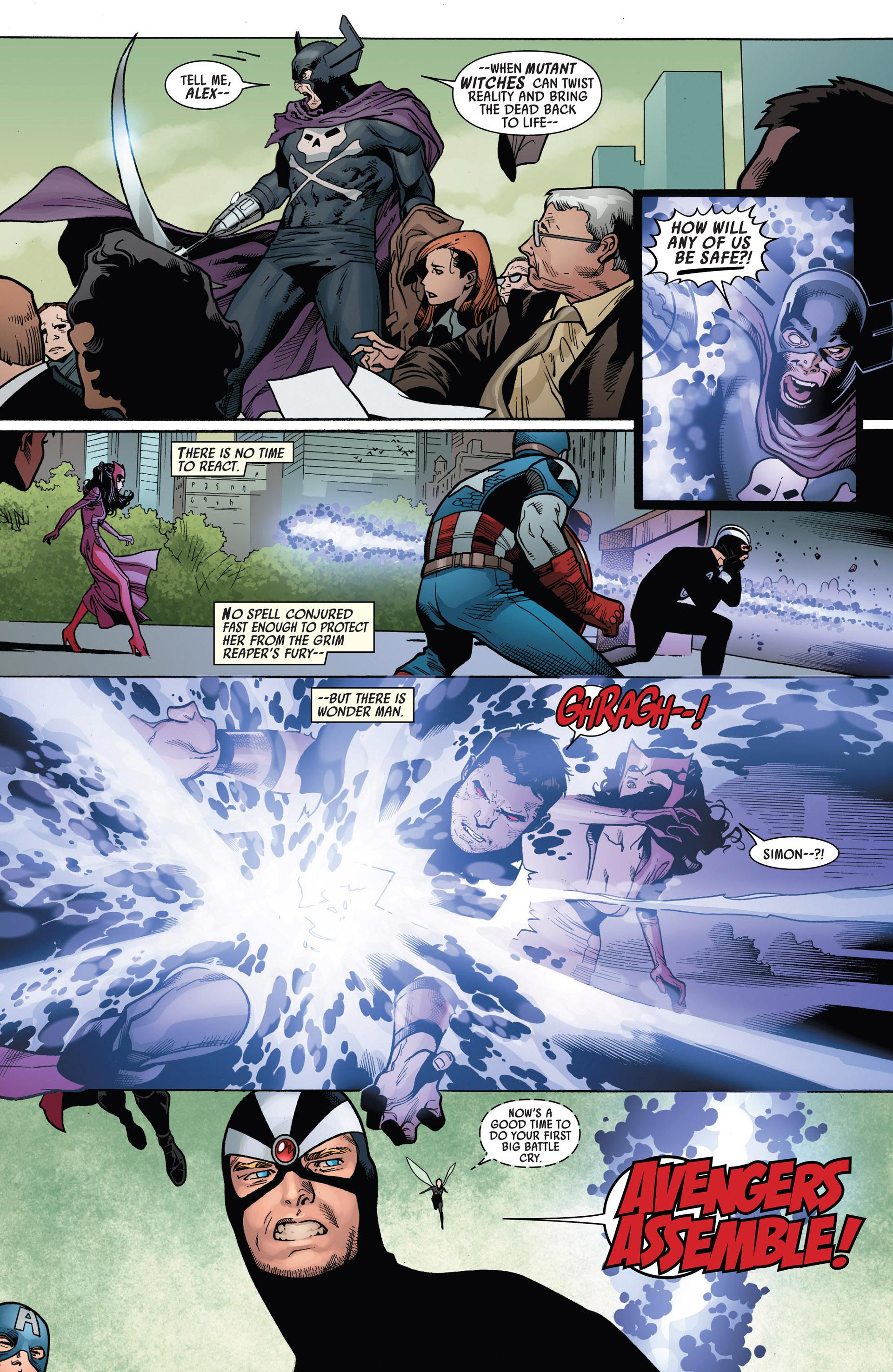 Read online Uncanny Avengers (2012) comic -  Issue #5 - 17