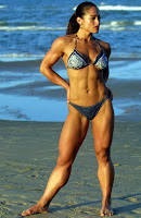 Women muscular power Female bodybuilding