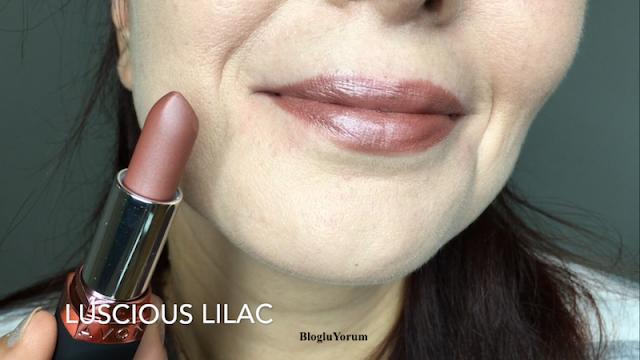Avon Velvet Luminosity Metalik Mat Ruj Luscious Lilac