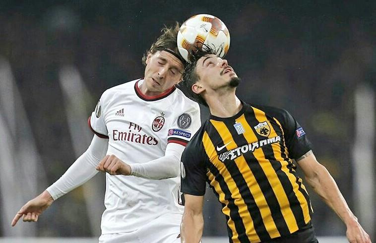 AEK Atene-Milan 0-0, il tabellino di una bruttissima partita dei rossoneri | Europa League