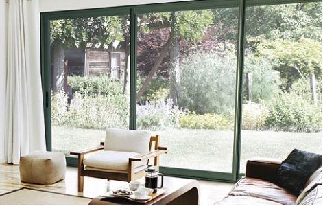 En france optez pour une baie vitr e coulissante pour profiter d une plus gr - Baie vitree 6 metres ...