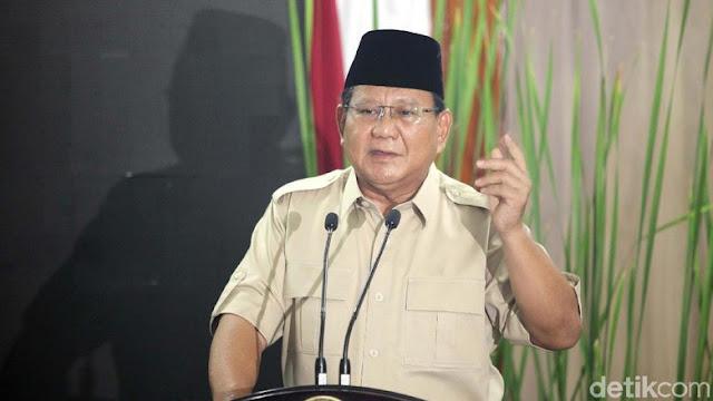 Prabowo Sebut Tingkat Kemiskinan di RI Makin Parah di Era Jokowi