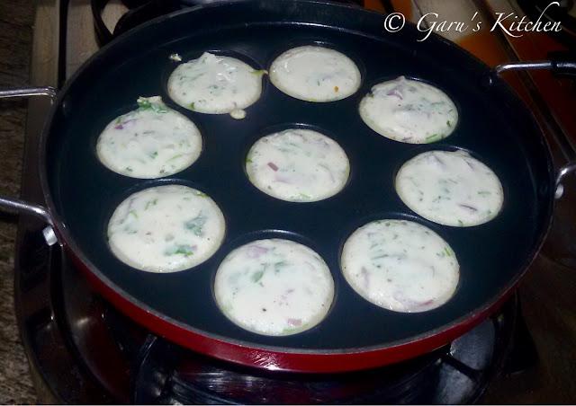 veg appam recipe | rice dal batter appam recipe | appe recipe | paddu recipe